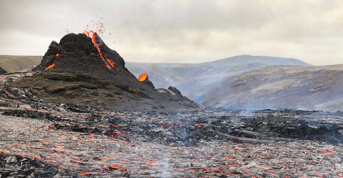 Reykjavik: Active Volcano Hike