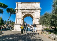 Rom: Kolosseum, Forum Romanum & Palatin − Tour für Kinder