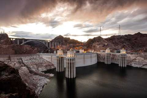 From Las Vegas: Hoover Dam Exterior Tour