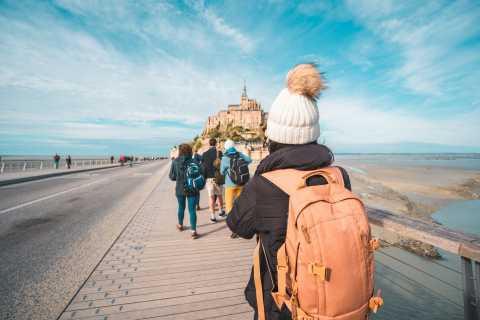 Mont Saint Michel: excursão a pé e ingresso opcional para a Abadia