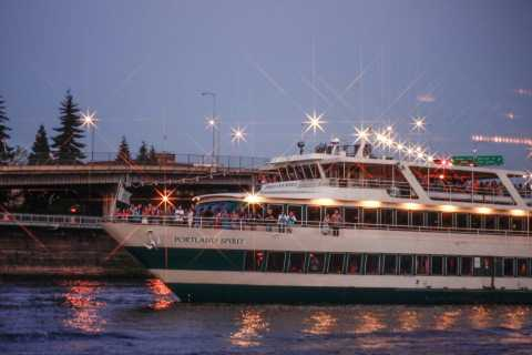 Portland: 2.5 Hour Dinner Cruise Through Downtown