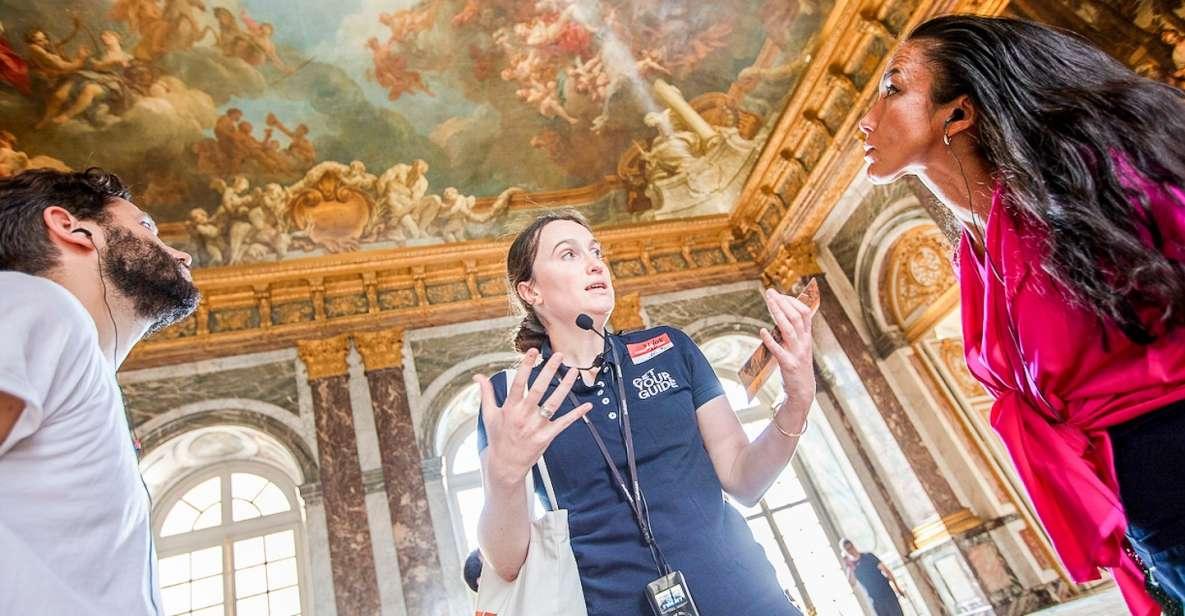 Versalhes: Tour Sem Fila no Palácio com Acesso Jardins