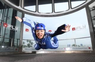 Singapur: I-Fly Indoor Skydiving Ticket
