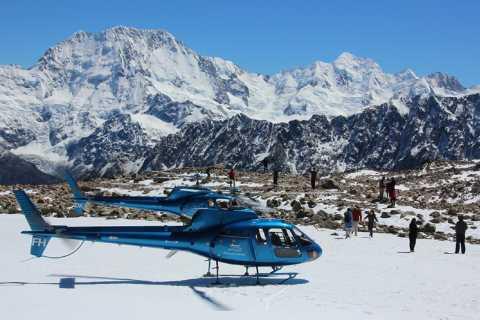 Franz Josef: Podróż helikopterem nad dwoma lodowcami