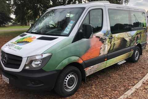 Geteilter Minibus-Transfer von Queenstown nach Te Anau