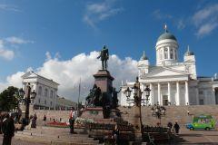 Tour pelo centro de Helsinque