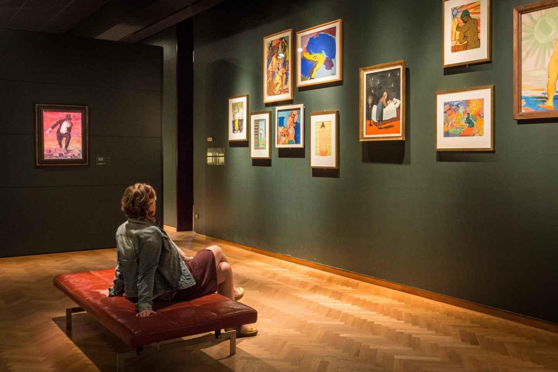 Brüssel: Eintrittskarte für das Magritte-Museum