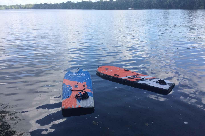 Potsdam: E-Surfboard-Verleih