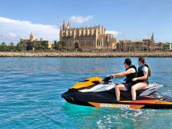 Palma de Mallorca: Jetski-Tour zur Kathedrale von Palma