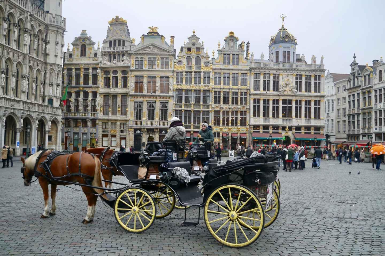 Antwerpen nach Brüssel: Tagestour zur privaten Kultur und Entdeckung