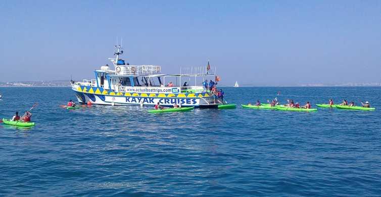 Lagos: Passeio de Caiaque na Ponta da Piedade