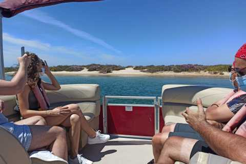 From Faro: Ria Formosa Faro Islands Catamaran Tour