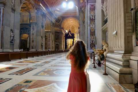Рим: тур от купола базилики Святого Петра до подземных гротов
