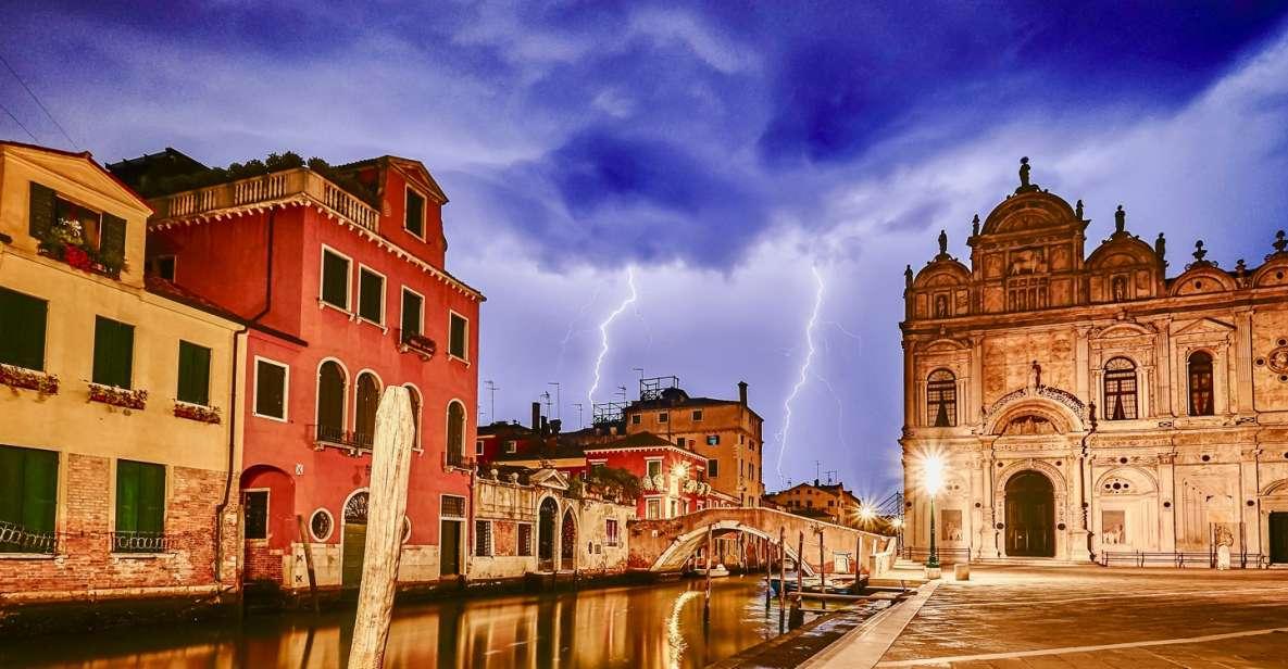 Venedig: Geister- und Legenden-Rundgang mit Wein- und Speisenverkostung