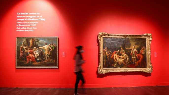 Málaga: Colección de la entrada al museo ruso.