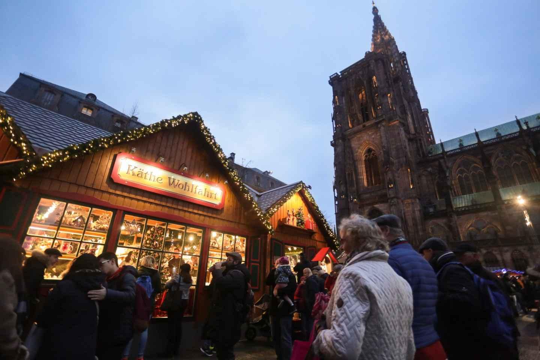 Weihnachtsmarkt-Tour in Straßburg mit Verkostungen und Gebäckdemo