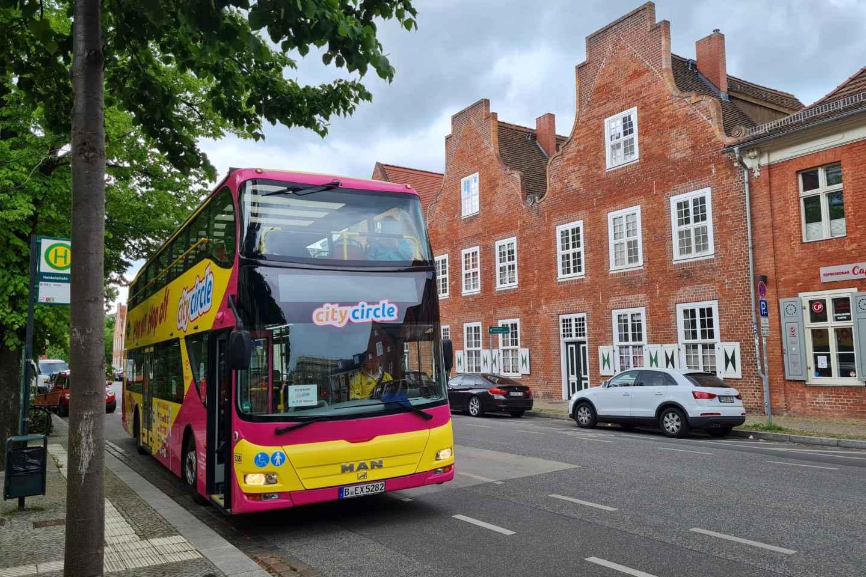 Potsdam: Hop-On-Hop-Off-Bustour 24-Stunden-Ticket