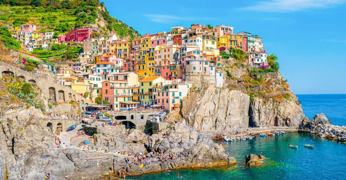 Florence: Cinque Terre Day Trip with Optional Hike and Lunch