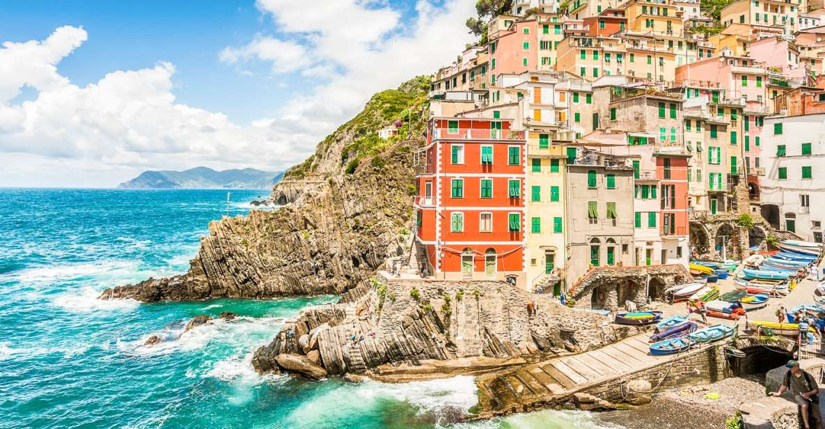 Ab Florenz: Cinque Terre - optionale Wanderung & Mittagessen