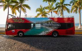 Puerto Vallarta: Hop-On-Hop-Off City Bus Tour