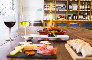 Lissabon: Kulinarischer Rundgang mit Speisen und Wein