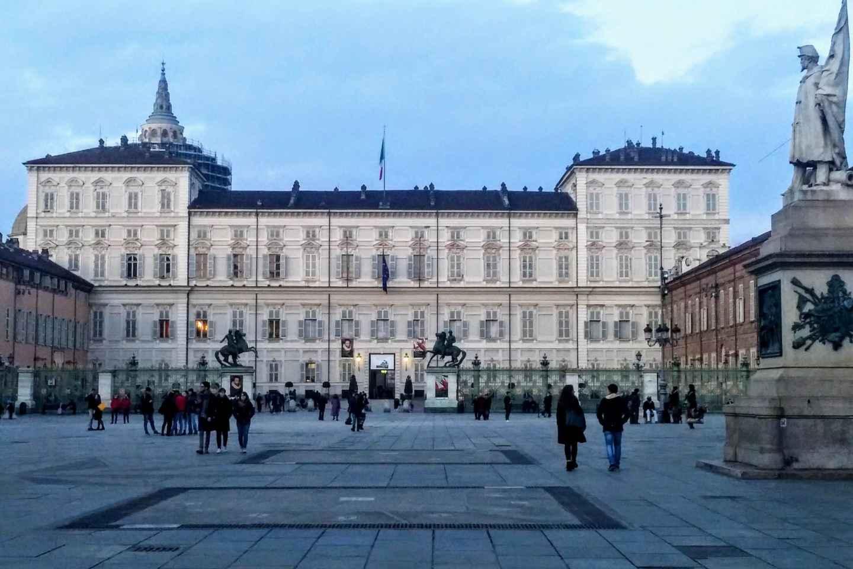 Turin: Geführte Tour durch Königspalast und Stadtführung