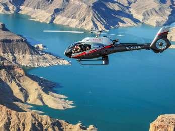 Las Vegas: Hubschrauberlandung im Grand Canyon mit Transfers