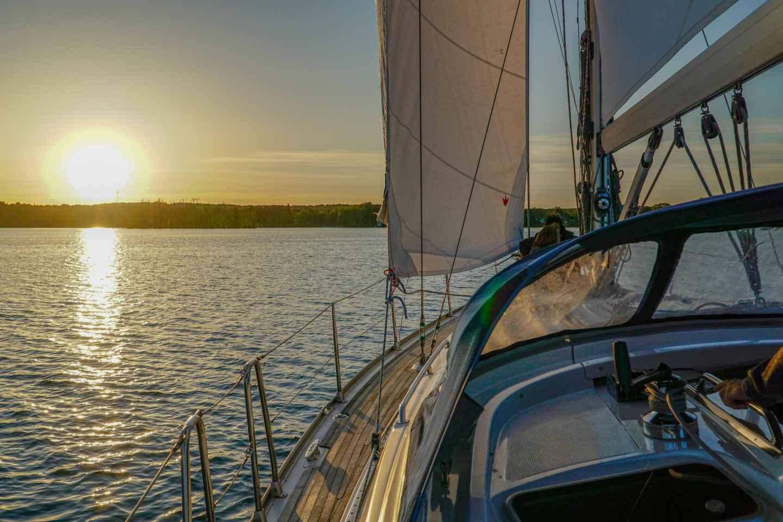 Bad Saarow: Segelbootfahrt auf dem Scharmützelsee