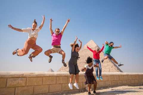 Fra Hurghada: Heldagstur til Kairo og Giza med lunsj
