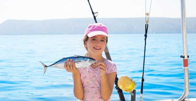 Alanya: journée de plongée en apnée et de pêche