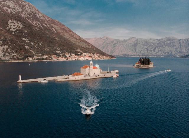 Kotor: Blauwe Grot en Onze-Lieve-Vrouw van de Rotsen 3-uur durende boottocht