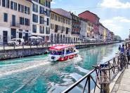 Mailand: 1-stündige Navigli-Kanalrundfahrt mit Audioguide