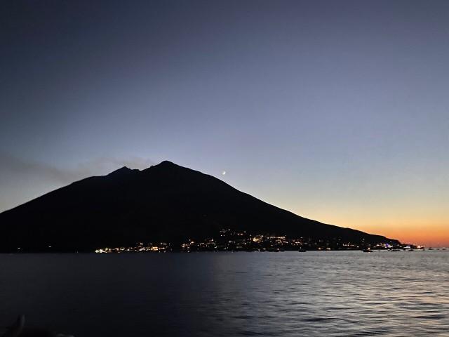 Van Milazzo: Vulcano, Panarea en Stromboli Tour bij nacht