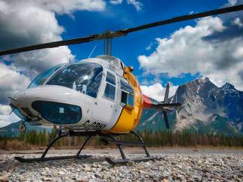 Helikoptertour in den Rocky Mountains Mountains