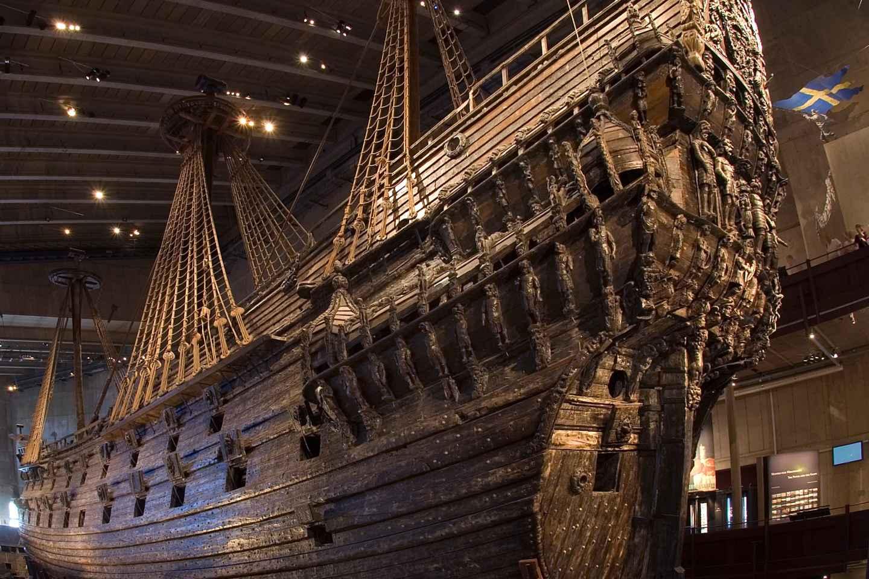 Stockholm: Ticket für das Vasa-Museum