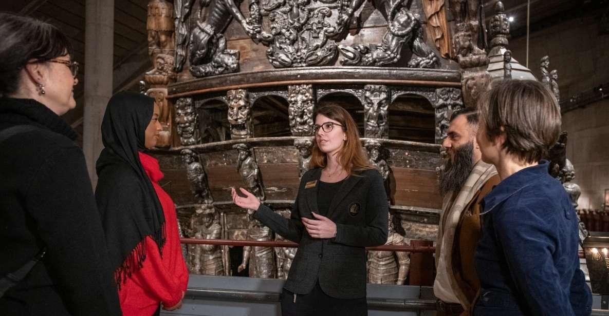 Stoccolma: biglietto d'ingresso al Museo Vasa