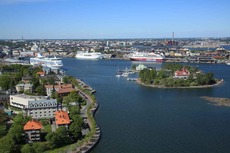 Helsinki: 1,5-stündige Schärenrundfahrt mit den Highlights der Stadt
