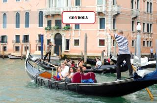 Venedig: Canal Grande - Gondelfahrt mit Kommentar
