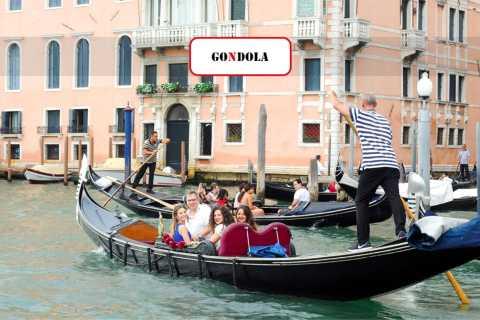 Venise: balade commentée en gondole sur le Grand Canal