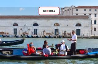Canal Grande: Gondelfahrt mit Musik und Sänger