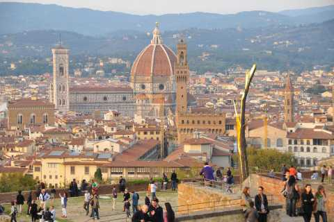 Florence: Famous Landmarks Small Group Walking Tour