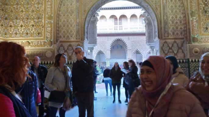 Seville: Super Combo Cathedral and Alcazar 3-Hour Tour