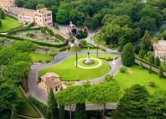 Rom: Exklusive Minibus-Tour durch die Vatikanischen Gärten