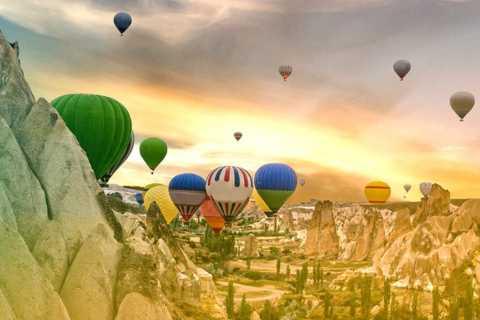 Cappadocia Hot Air Balloon Sunrise Flight