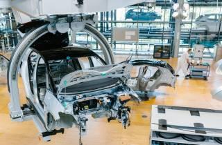 Dresden: Gläserne Manufaktur von Volkswagen - Führung