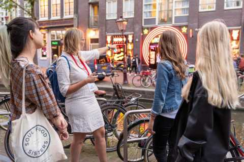 Amsterdam Red Light District: Walking Tour with Windows