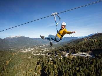 Whistler: Längste Zipline in Nordamerika