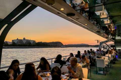 Budapest: croisière avec dîner aux chandelles et musique