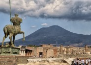 Pompeji & Vesuv: Ganztagstour ab Neapel