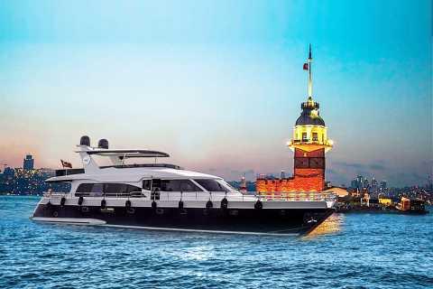 Bosforo: crociera al tramonto su yacht di lusso